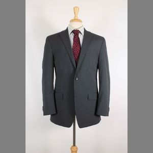 Michael Kors 40R Gray Sport Coat B391